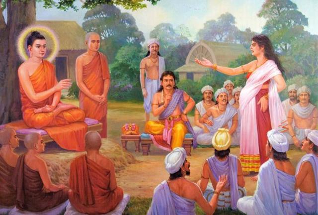 释迦牟尼佛给在家人提出五条基本的规范