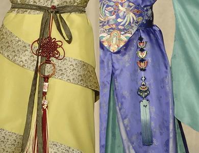 飘舞的彩绸素材-飘逸的玉环绶(资料图 图源网络)-古人穿衣的美学 汉服与内涵图片