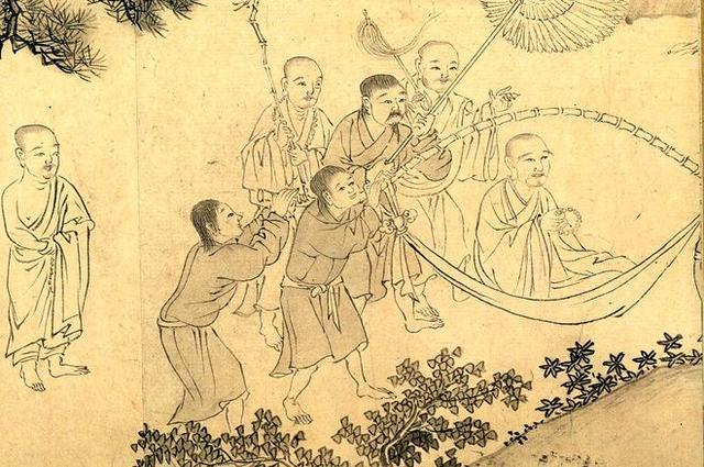 有皇帝不做非要当和尚 最后成为一代高僧