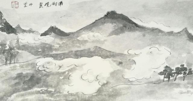 云舟道游记丨潇湘观水云:倚栏山风吹不尽,天地一舟寄自由