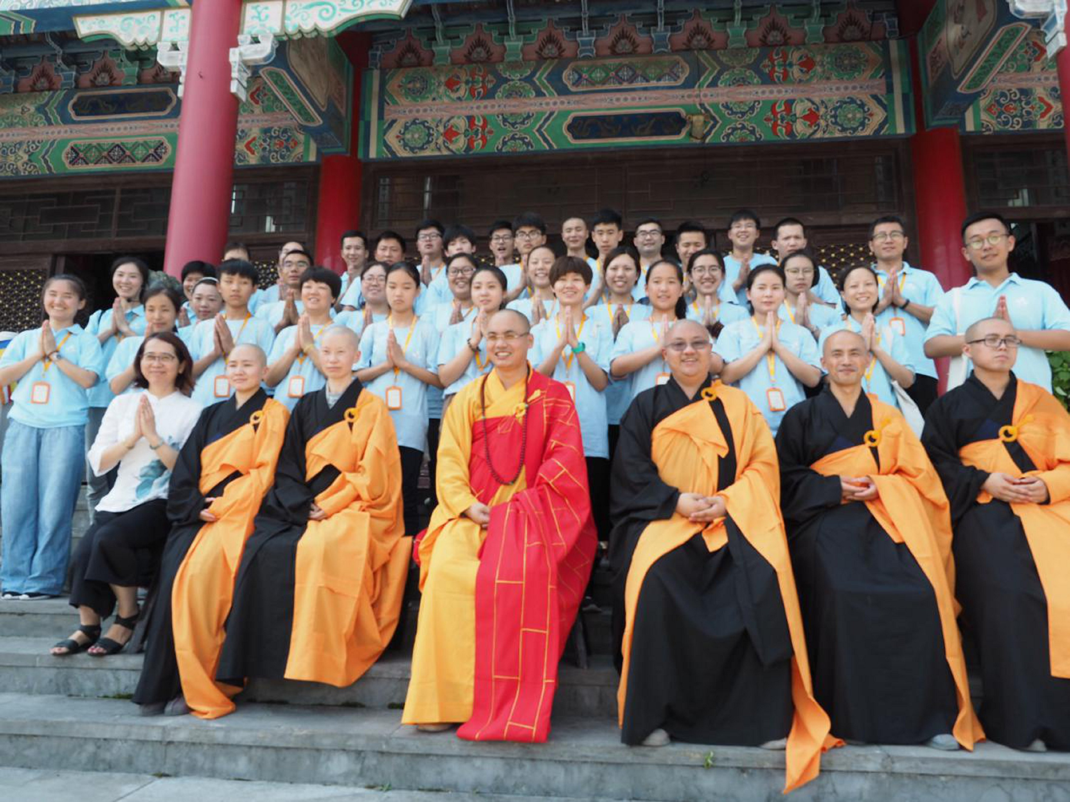 澄光寻禅之旅大学生公益夏令营圆满结束