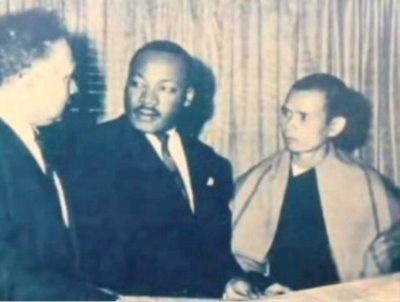 马丁•路德•金提名一行禅师为诺贝尔和平奖候选人