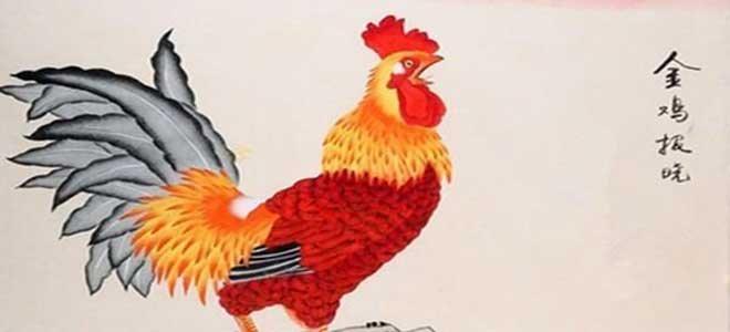雄鸡图10幅:雄鸡一声天下白 大吉大利!
