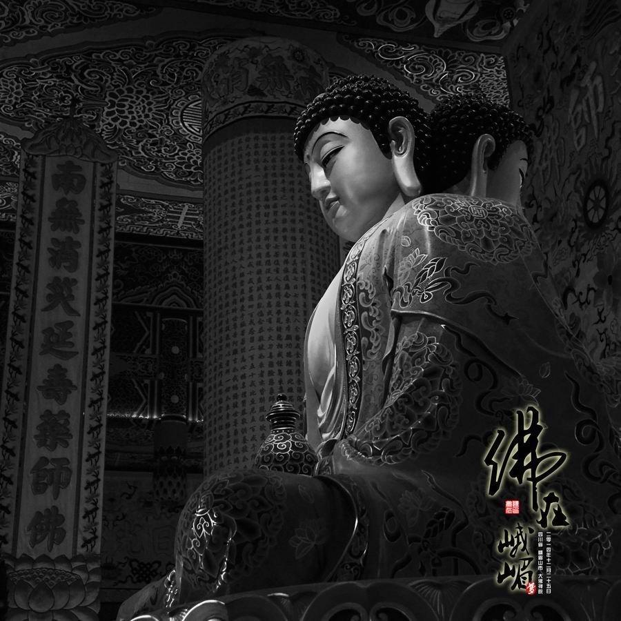 佛在峨嵋:峨嵋大佛禅院的佛菩萨像