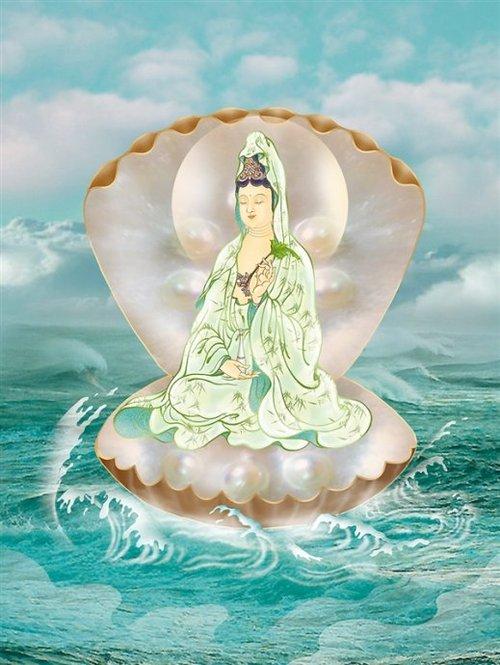 中国古代三十三观音圣像图