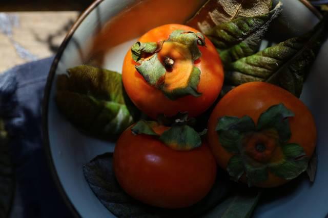 待秋来 许你一生柿柿如意