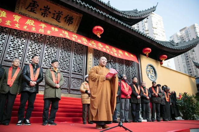 上海玉佛禅寺大雄宝殿平移顶升圆满落成