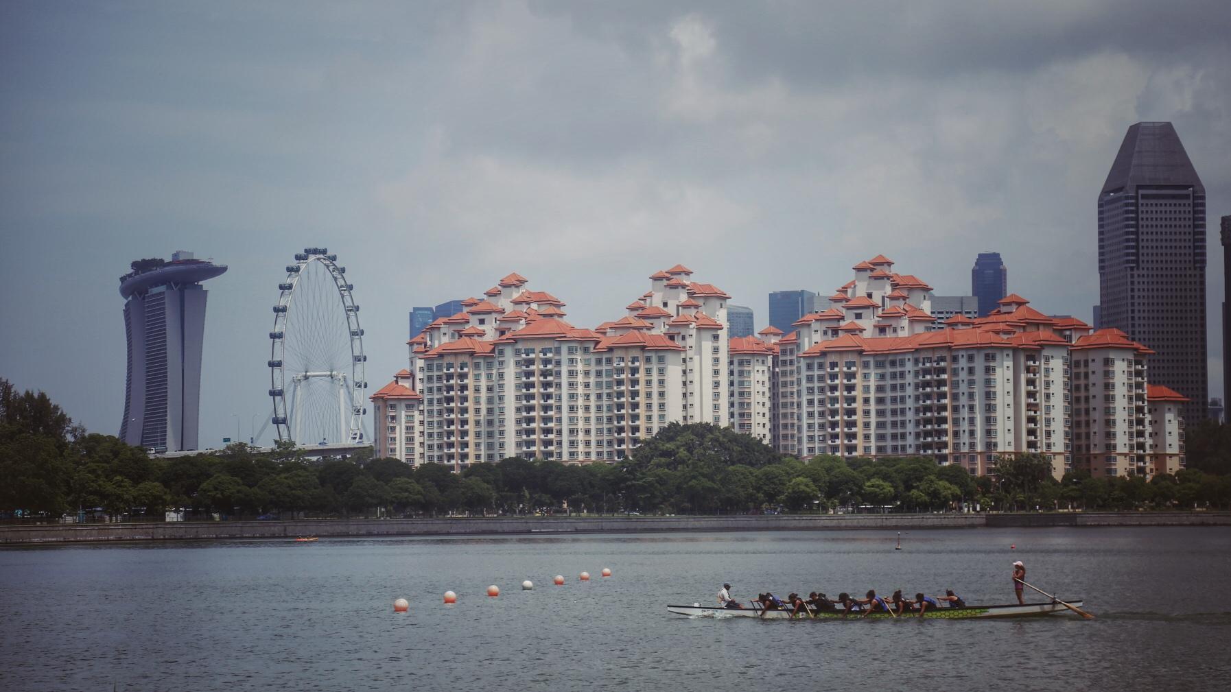 新加坡的端午节:龙舟粽子一样不少