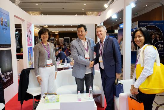 中国国际电视总公司组织联合展台参加匈牙利电视节