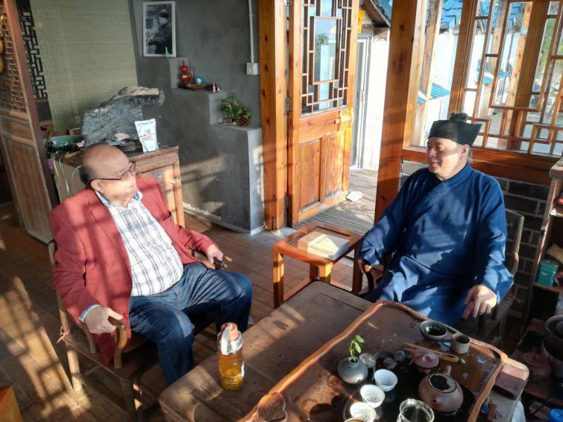 学术大家马西沙教授受聘为浙江道教学院学术顾问