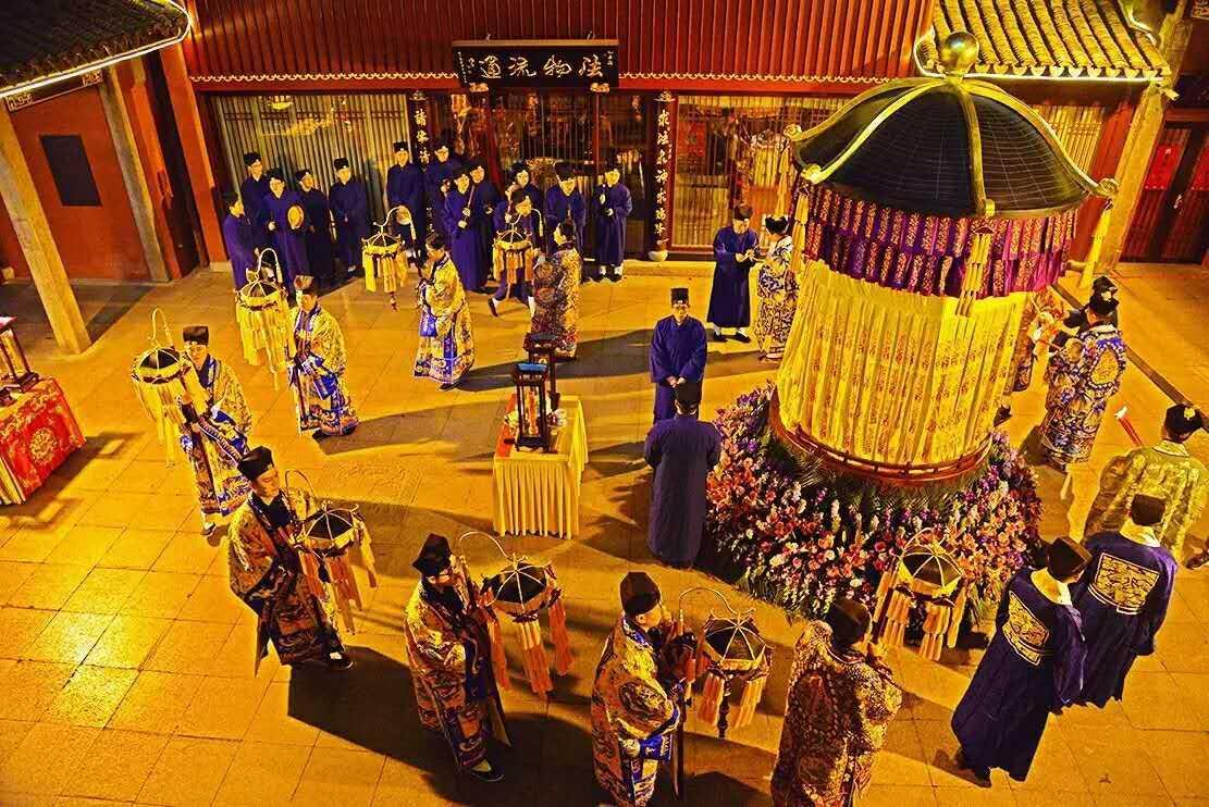 视频回顾:上海城隍庙丁酉年玄元降圣节