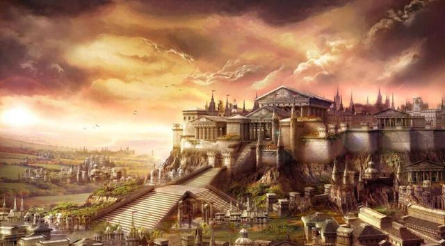 """他向人炫耀说:""""这个宫殿就像天宫一样的美丽.图片"""