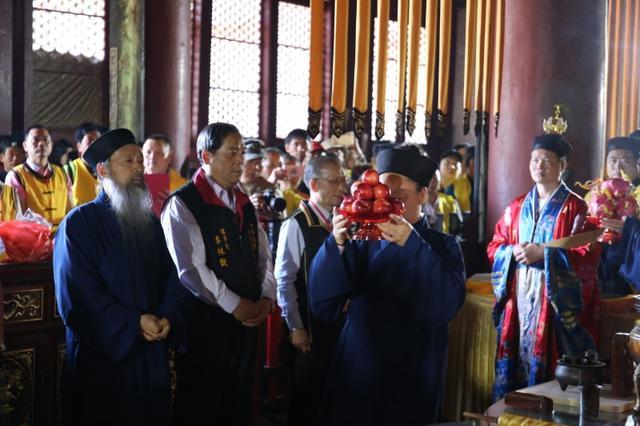 武当紫霄宫朝圣法会预祝第四届国际道教论坛圆满举办