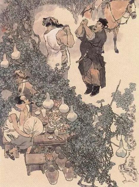 古代名著手绘本之戴敦邦《水浒传》