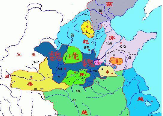 春秋战国地图(资料图 图源网络)-春秋到战国前期 秦国为什么被中原