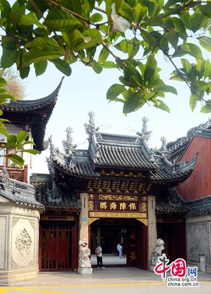 《中国道教协会成立60周年成就展》之宫观建设