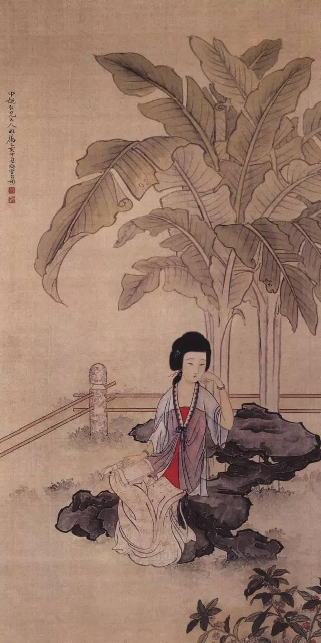 中国古代的美女子 世界各地在收藏