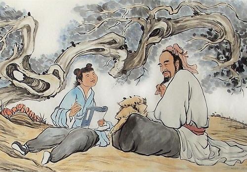 孔子和米饭的故事