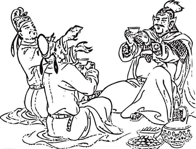 把酒吟诗 古代祝酒辞图片