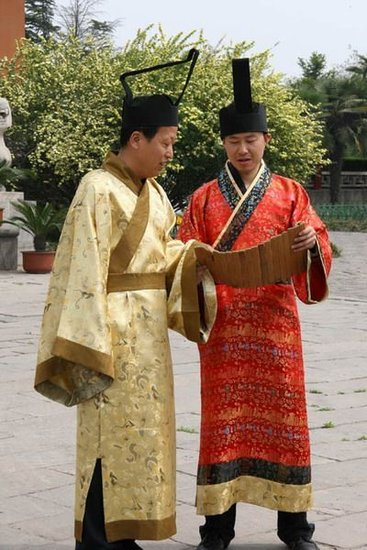 中国古代传统服饰 汉代的服饰图片