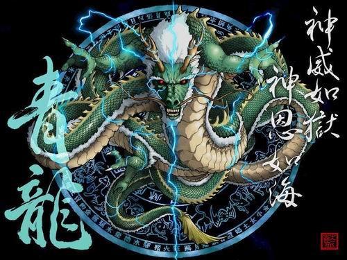 中国古代镇守天宫四大神兽图片