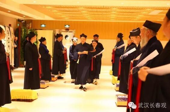 武汉长春观丙申戒坛大师演礼活动如期举行