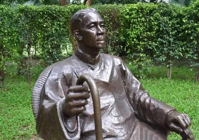 陈寅恪雕像