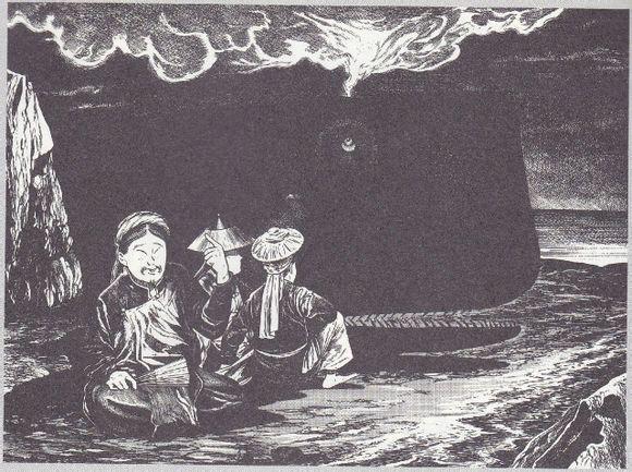 道教的灵魂观:朝和三魂,夕炼七魄