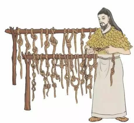 """在道家文献中,有关汉字起源的记录,主要有""""八卦说"""",""""结绳说"""",""""书契说图片"""