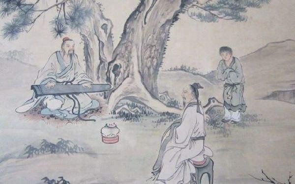 古琴与修行:一亩白云空翠深,中有仙翁抱一琴