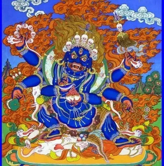 玛哈嘎拉护法:一切护法之首 佛教之战神