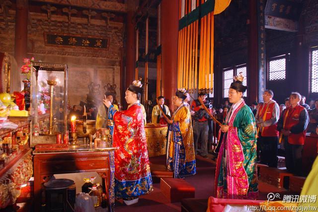 北京药王庙4月3日举行清明超度法会