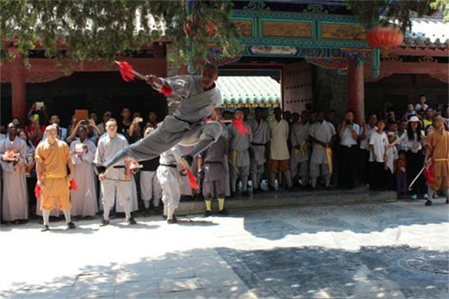 第二期 文化部少林功夫非洲学员班 开班仪式在少林寺举行