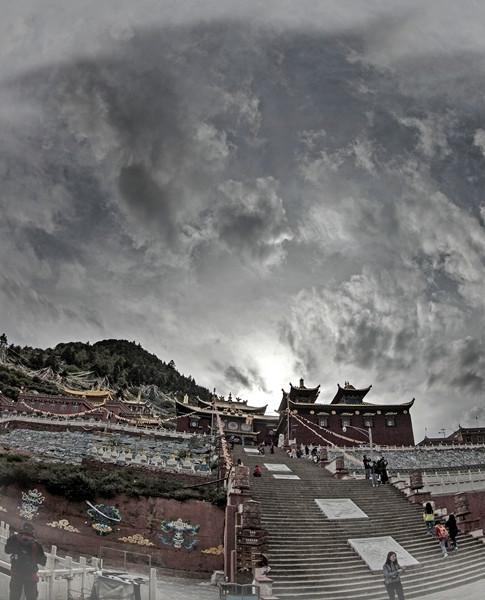 金川县观音庙:第二个布达拉宫