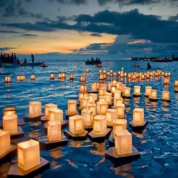 中元节:放一盏明灯 遥寄相思