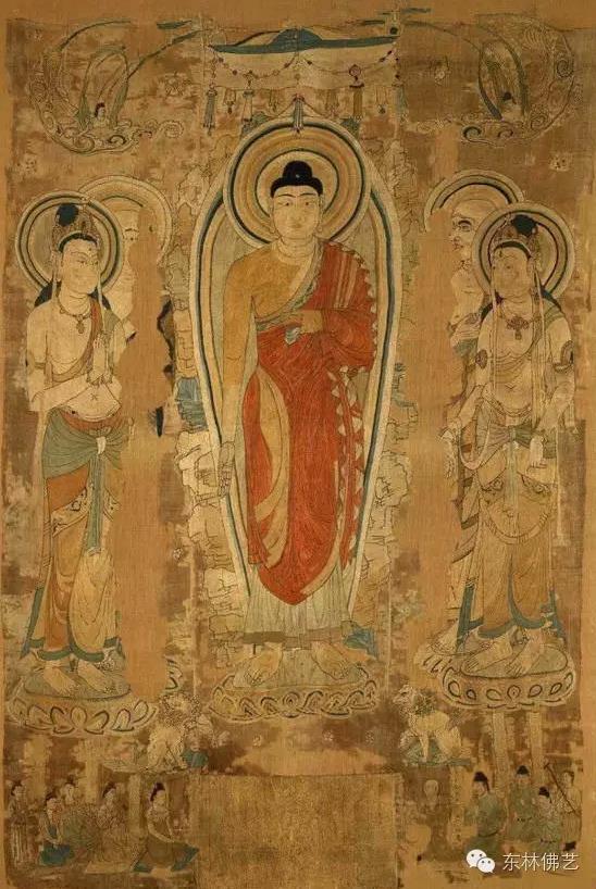 佛画技法学习:佛教画像的基本构成