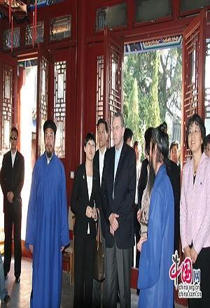 《中国道教协会成立60周年成就展》之对外交流