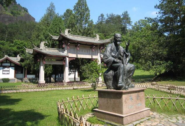 武夷山朱熹像(资料图)