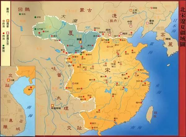 中国北宋地图高清版