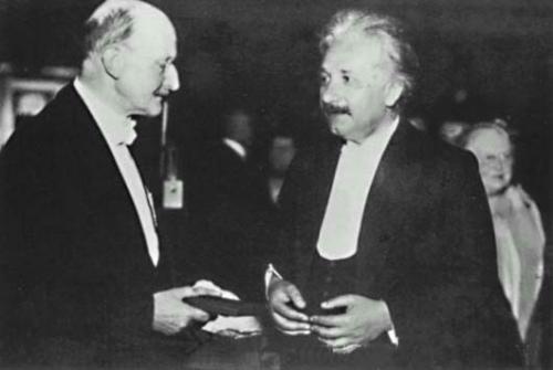 普朗克博士和爱因斯坦