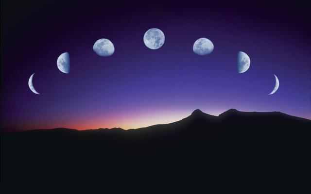 朔晦月见,弦望满亏(资料图)