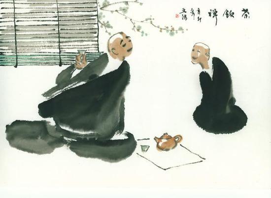 吃茶与禅机:古代佛门茶话