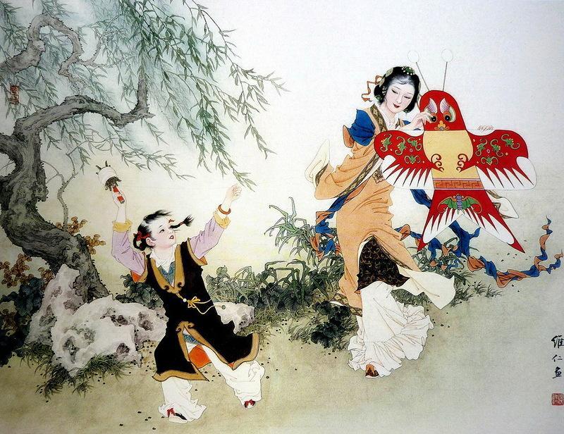 每周诗语丨撷两首清诗:东风欢畅 笑语新春