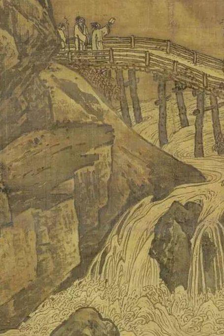 秋山红树图 (宋·萧照)