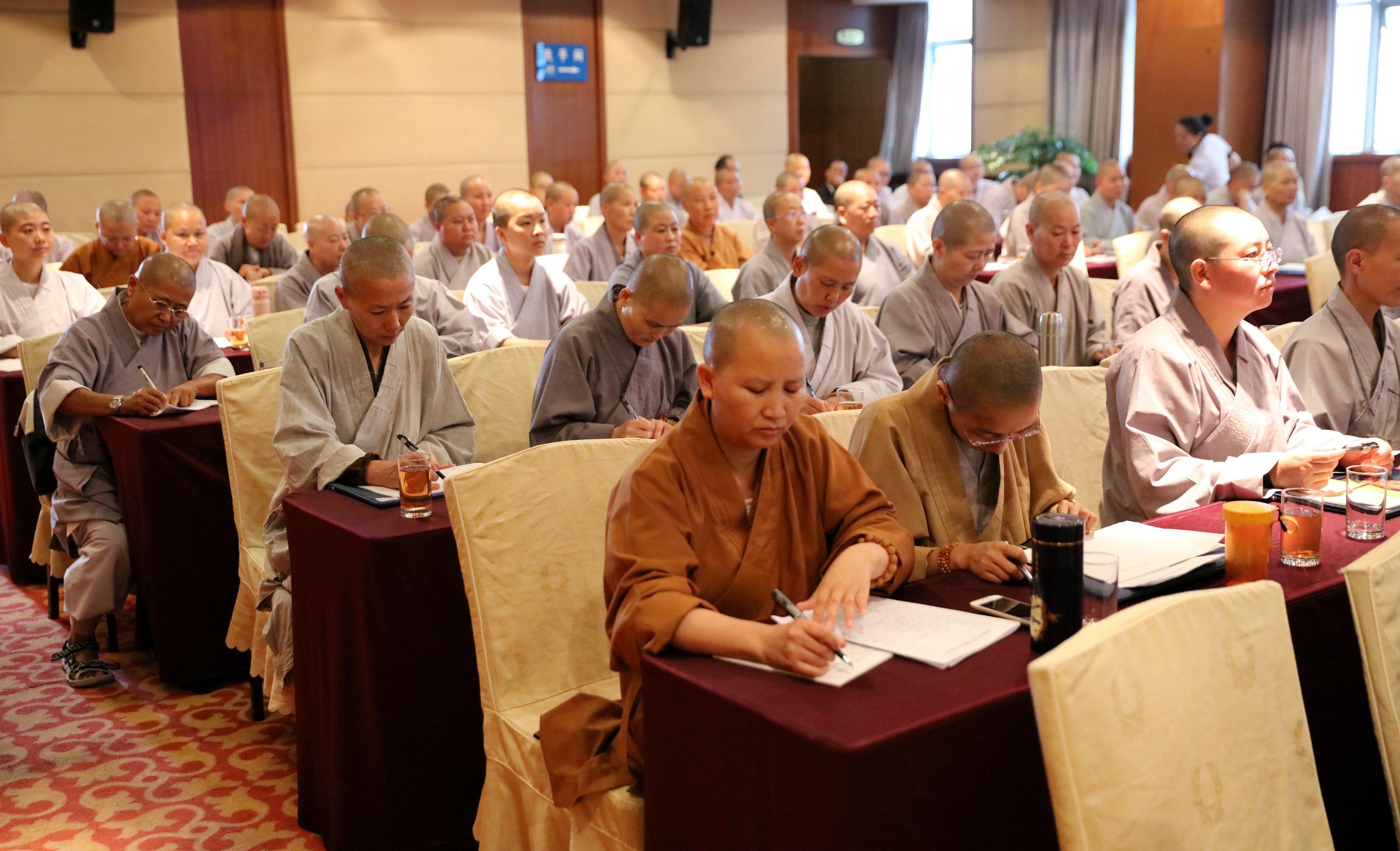 云南省2017年汉传佛教比丘尼培训班在昆明开班