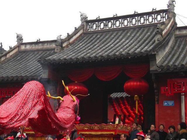 正月十五 合肥城隍庙隆重举行庐州府城隍文化节
