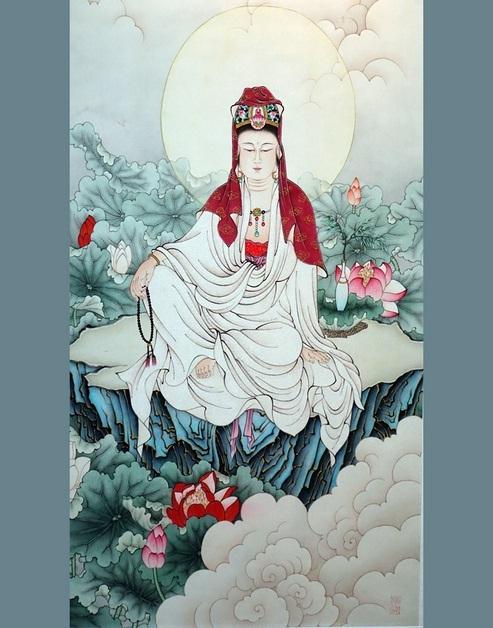 恭迎观音菩萨成道日祈愿业障尽消 福慧增长!