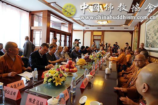 两岸佛教界在五台山共同祈祷世界和平