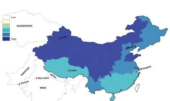 王姓人口分布_王姓的人口分布