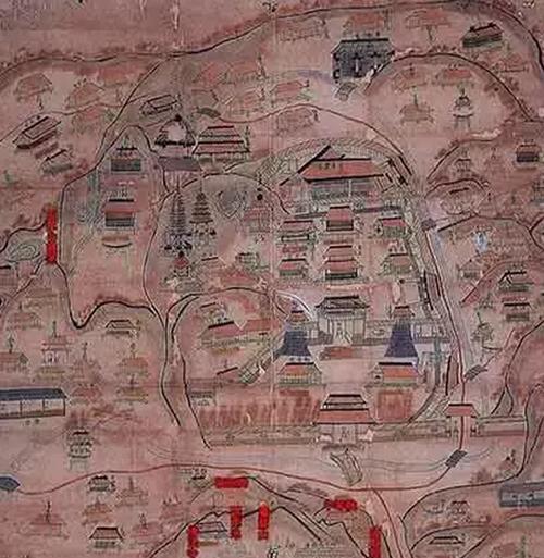 极乐寺绘图